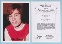 Arsenal Alex Cropley Scotland 4